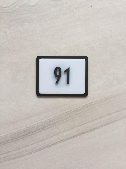 Номерок для входной двери Peterburg