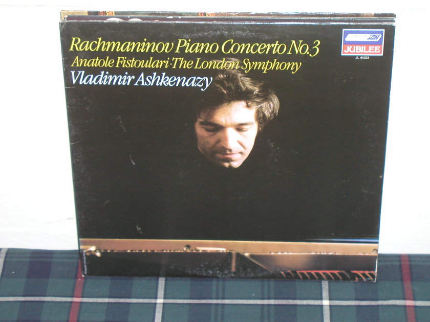 Vladimir Ashkenazy - Rachmaninoff Cto 3 London ffrr/narrow jl 41023