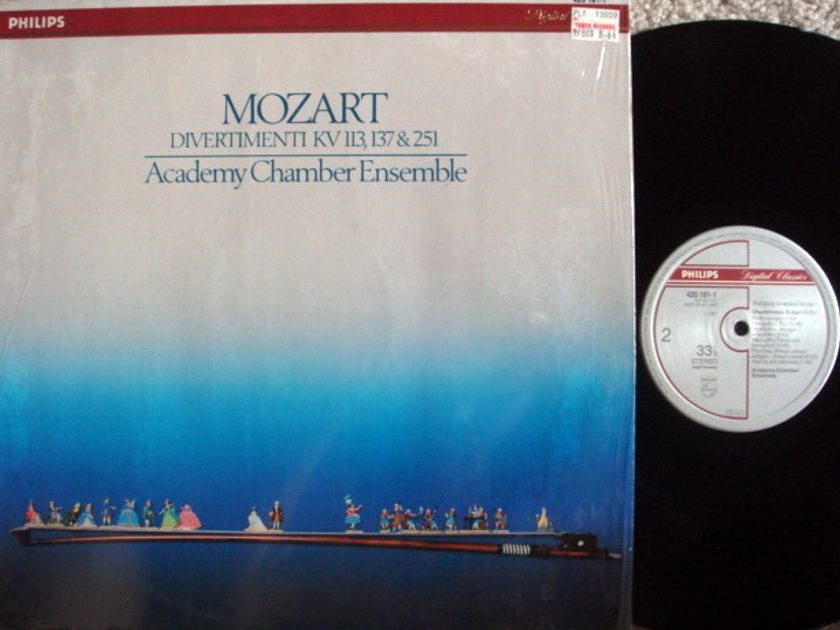Philips Digital / ACE, - Mozart Divertimentos, MINT!