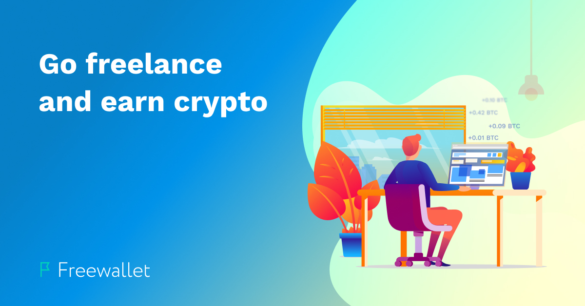 The best freelance websites to earn cryptocurrency