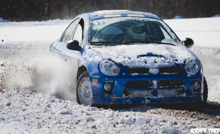 IA Region January 2019 Rallycross near Vinton