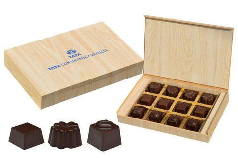 Corporate Business Gifts - 12 Chocolate Box - Assorted Candies (10 Boxes)