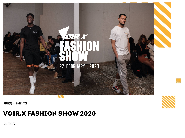 Voir.X Fashion Show 2020