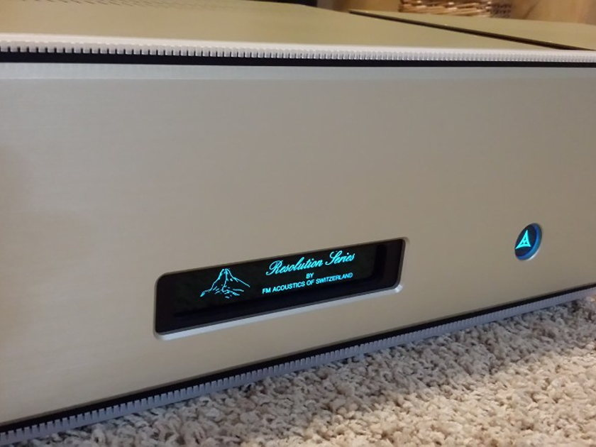 FM Acoustics  Resolution Series 115 Monoblock Amplifiers
