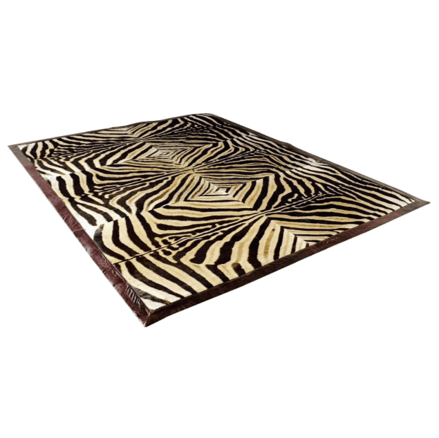 Zebra Hide Area Rugs