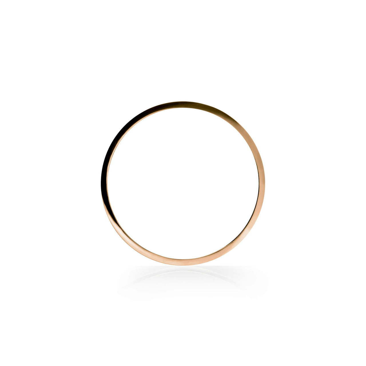 Round Bangle in Copper
