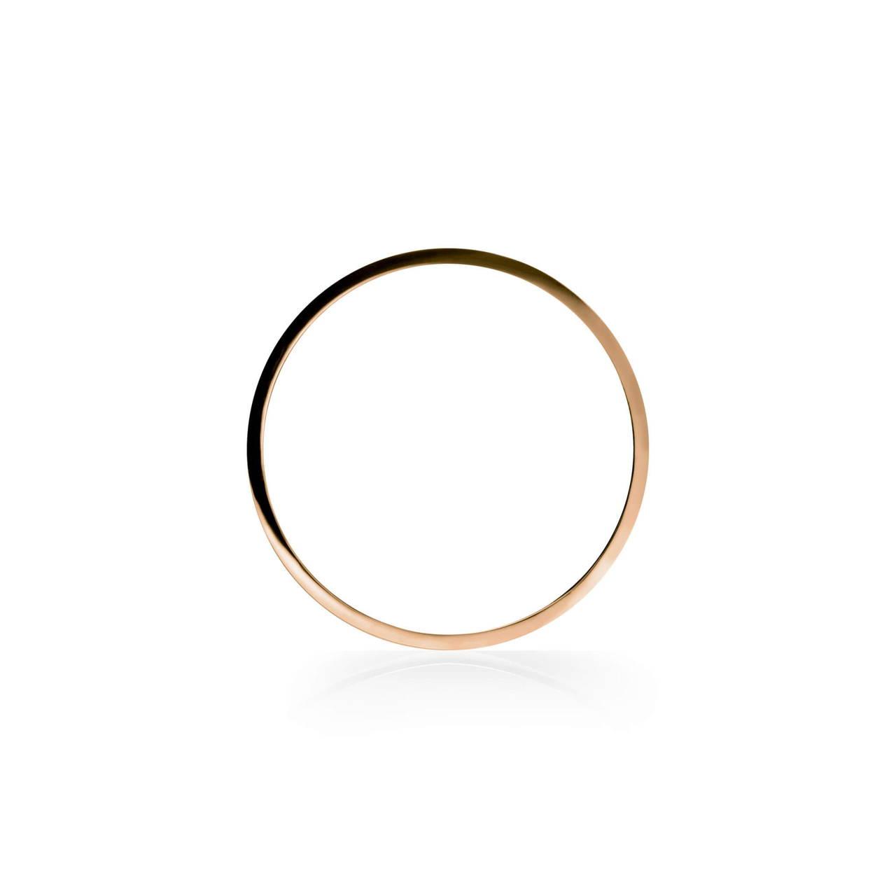 Round Bangle in Copper