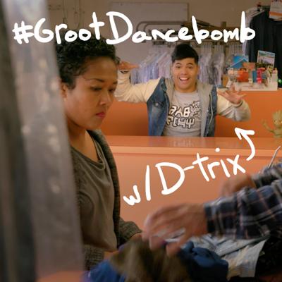 #GrootDancebomb