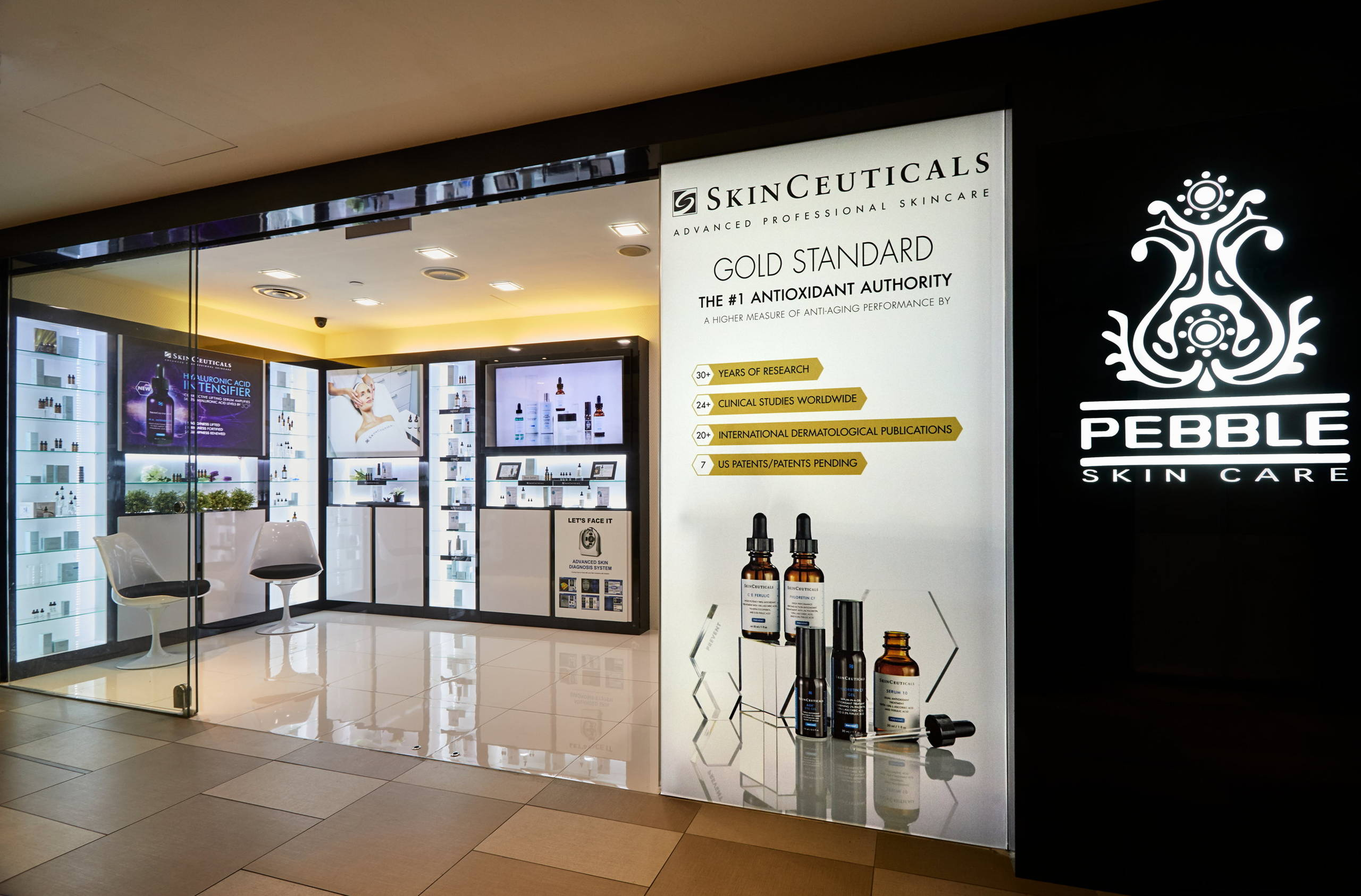 EXCLUSIVELY SKINCEUTICALS AT PEBBLE AESTHETIC