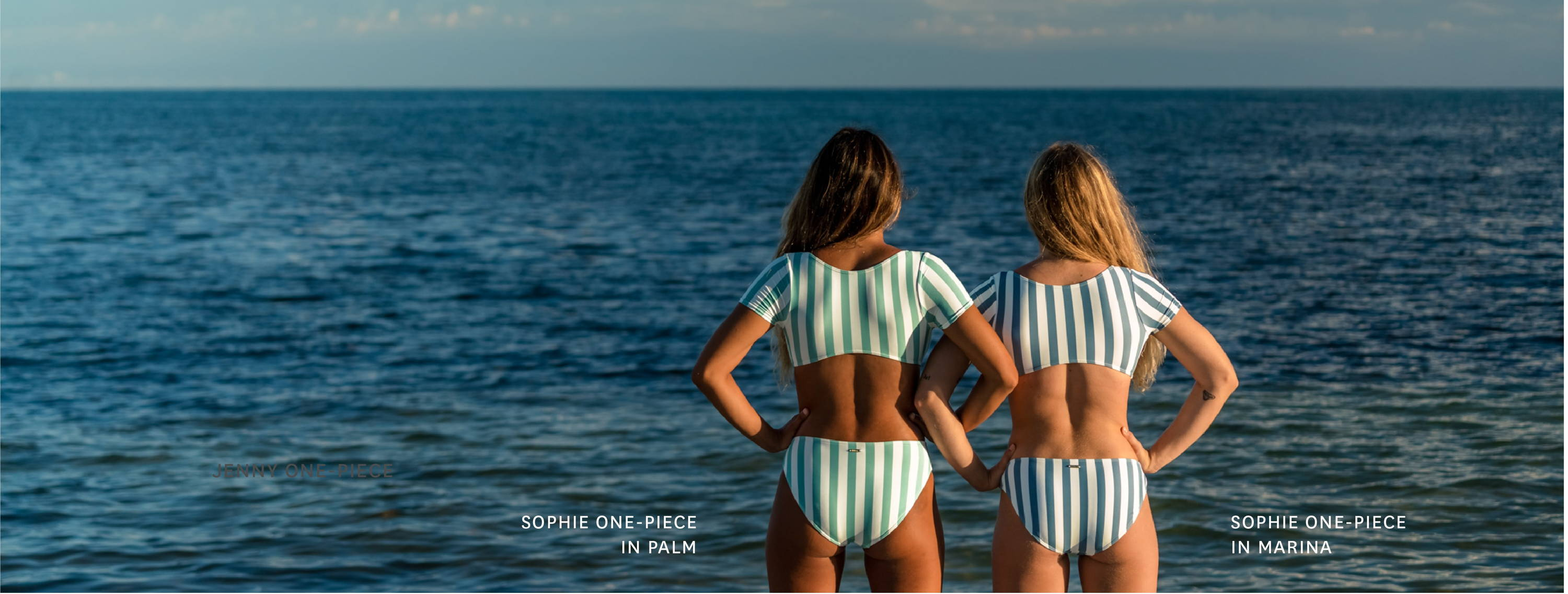 Get the Sophie One-Piece in our Airlie (Palm) print!