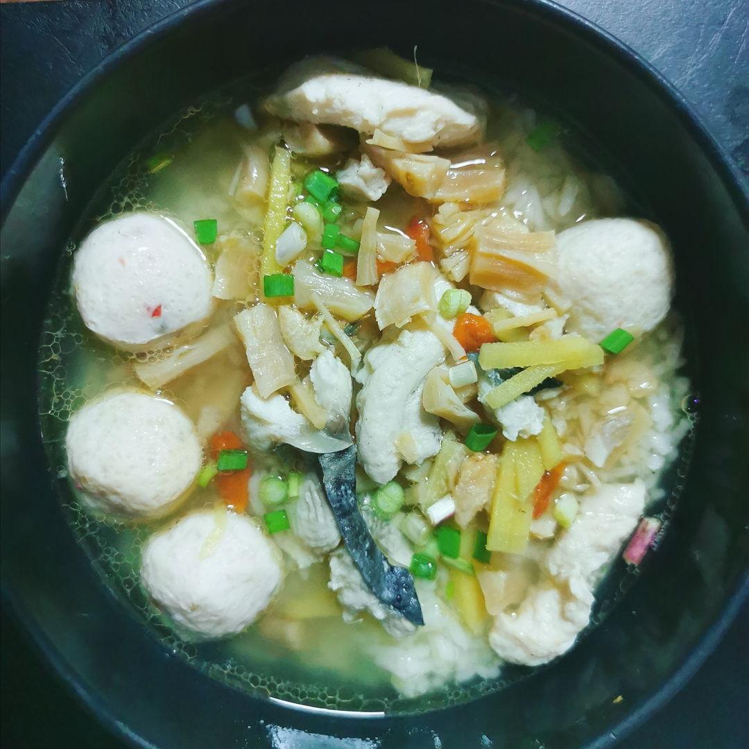 Teochew Fish (Batang) Porridge