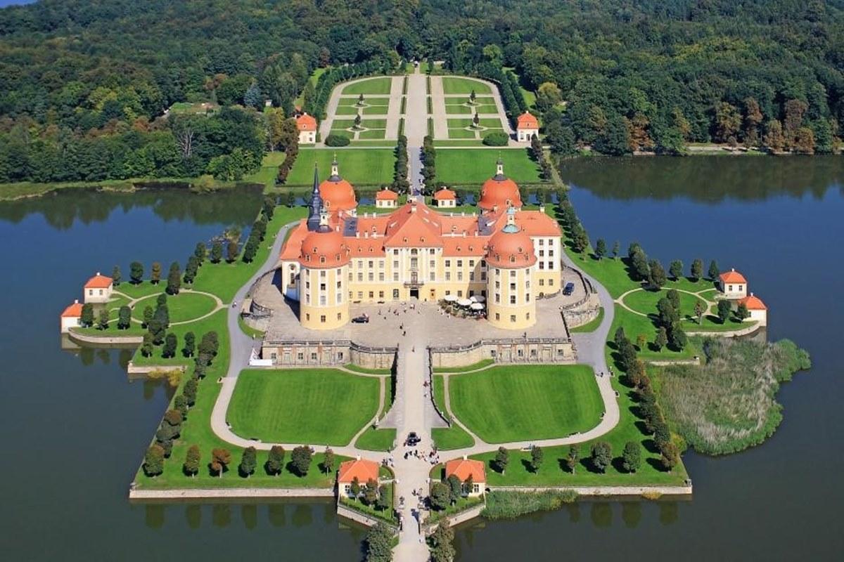 экскурсии из праги в дрезден: замок морицбург