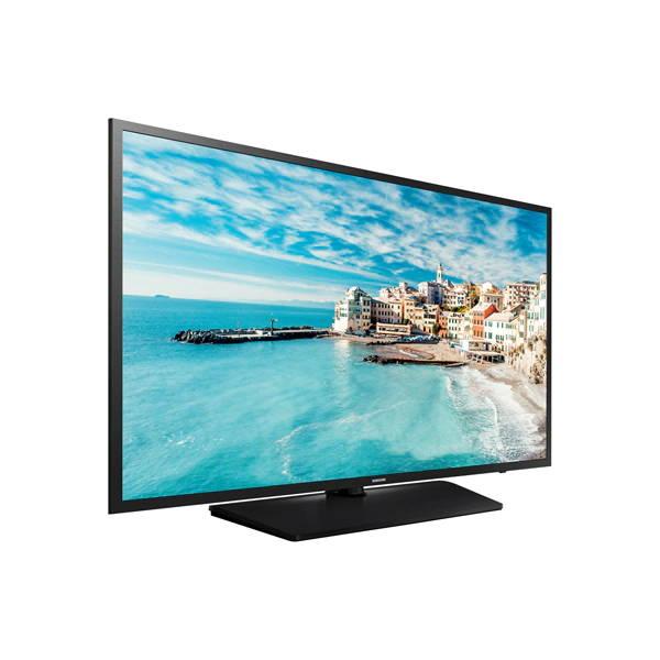 "Samsung HG32NJ470NFXZA 32"" Hotel hospitality TV 470 Series LYNK DRM Side Angle Left"
