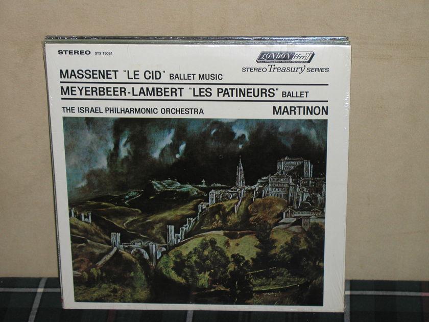 Martinon/IPO - Massenet Le Cid SEALED London STS 15051(Thick)