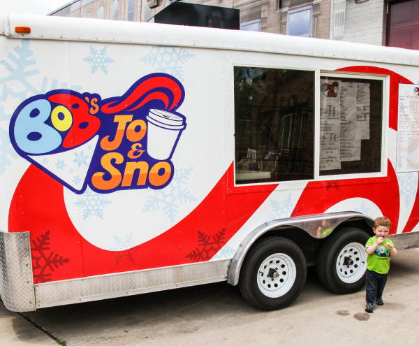 Vinyl Vehicle Wraps - Bob's Joe & Snow Food Truck Wrap