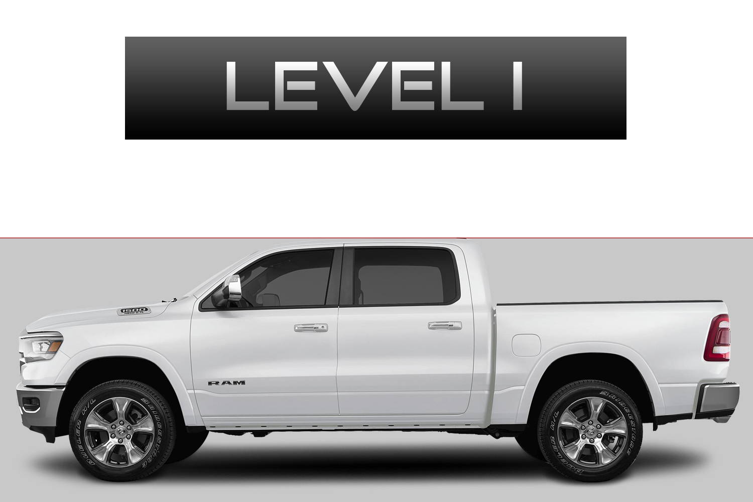 Dodge RAM 1500 Off-Road Customizing Package Level 1 by 3C Trucks