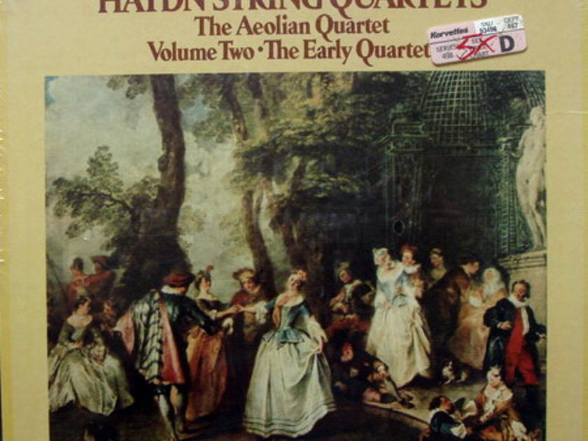 ★Sealed★ London-Decca / AEOLIAN QT, - Haydn Early String Quartets, 5LP Box Set!