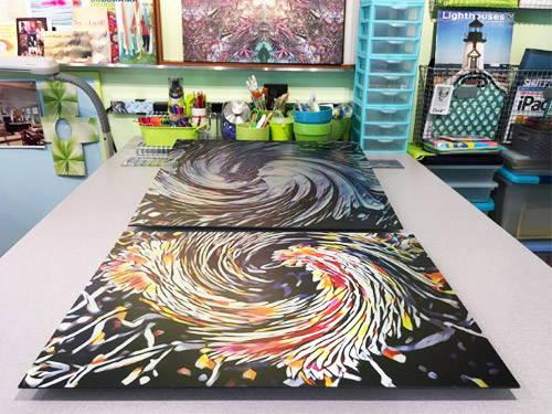 Customer feedback on aluminum prints
