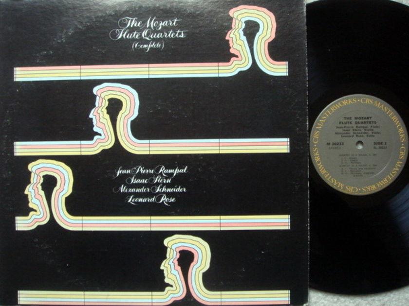 Columbia / STERN-ROSE-RAMPAL, - Mozart Flute Quartets, NM!