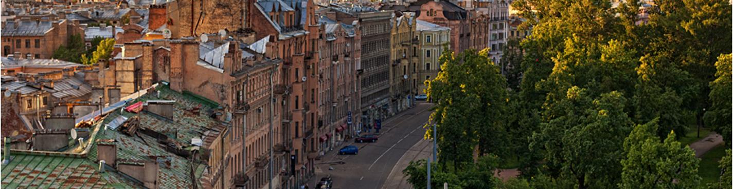 Велосипедная прогулка по Петроградке