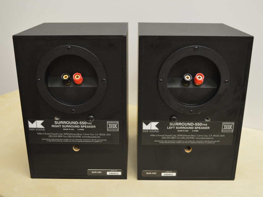 M&K 550THX - Surround or Small System Main Speakers