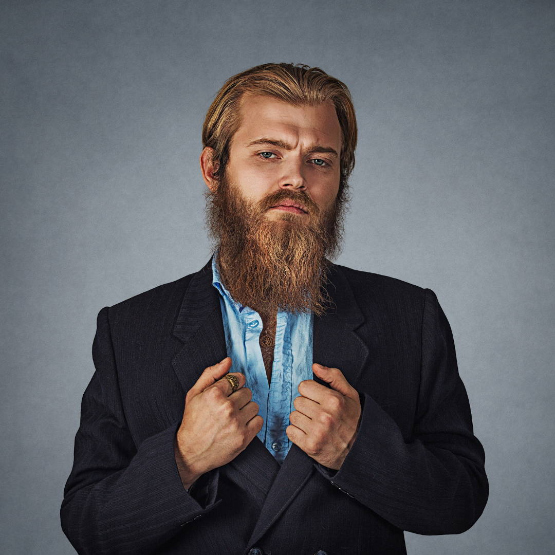 How to care for your beard, the man made way
