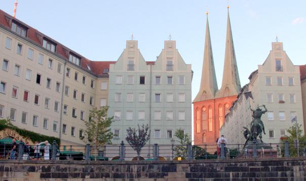 Редкий Берлин: Хакские лабиринты, Николаевская слободка и площадь Алекса