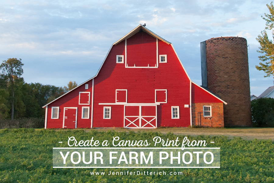 farm canvas prints