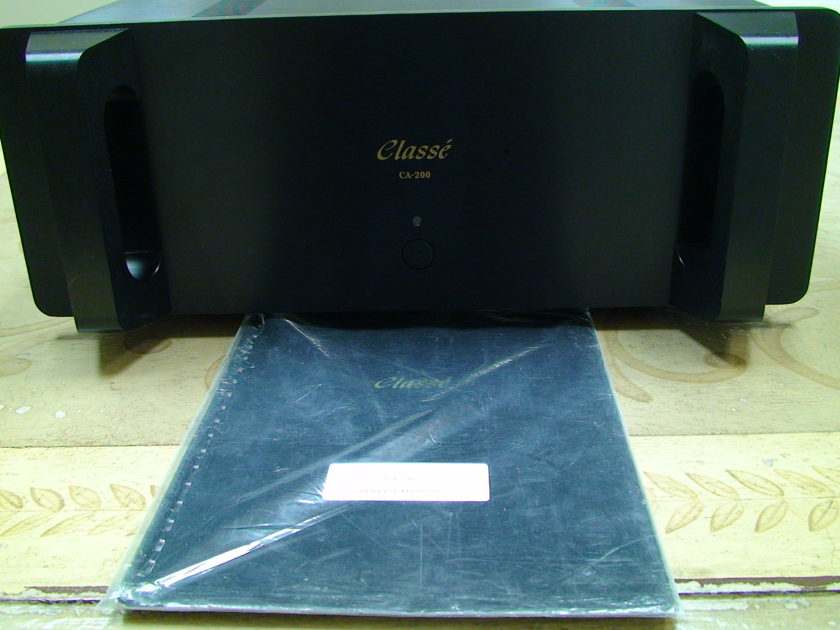 Classe CA 200 Stereo Power Amplifier