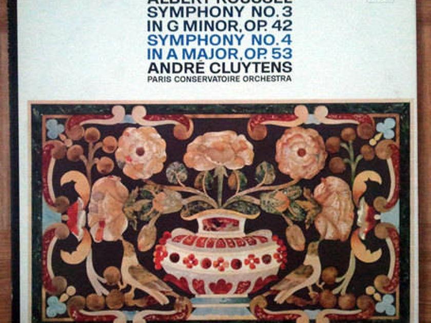 ANGEL BLUE | CLUYTENS/ROUSSEL - Symphonies Nos. 3 & 4 / NM