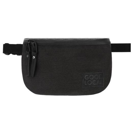 Черная поясная сумка из кордуры Good Local Banana  Special W/Zip Black