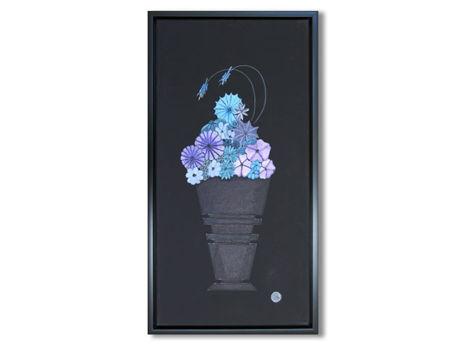 """""""Blue Flower Study II"""""""