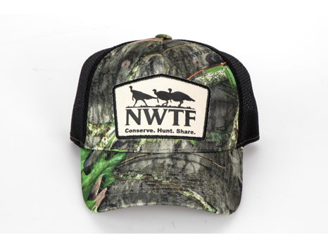 Cap NWTF MO Obsess Camo with mesh back & NWTF Logo patch