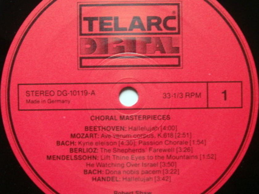 ★Audiophile★ Telarc / SHAW, - Choral Masterpieces, MINT!