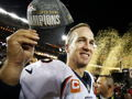 Peyton Manning Signed Super Bowl 50 Ball, with case