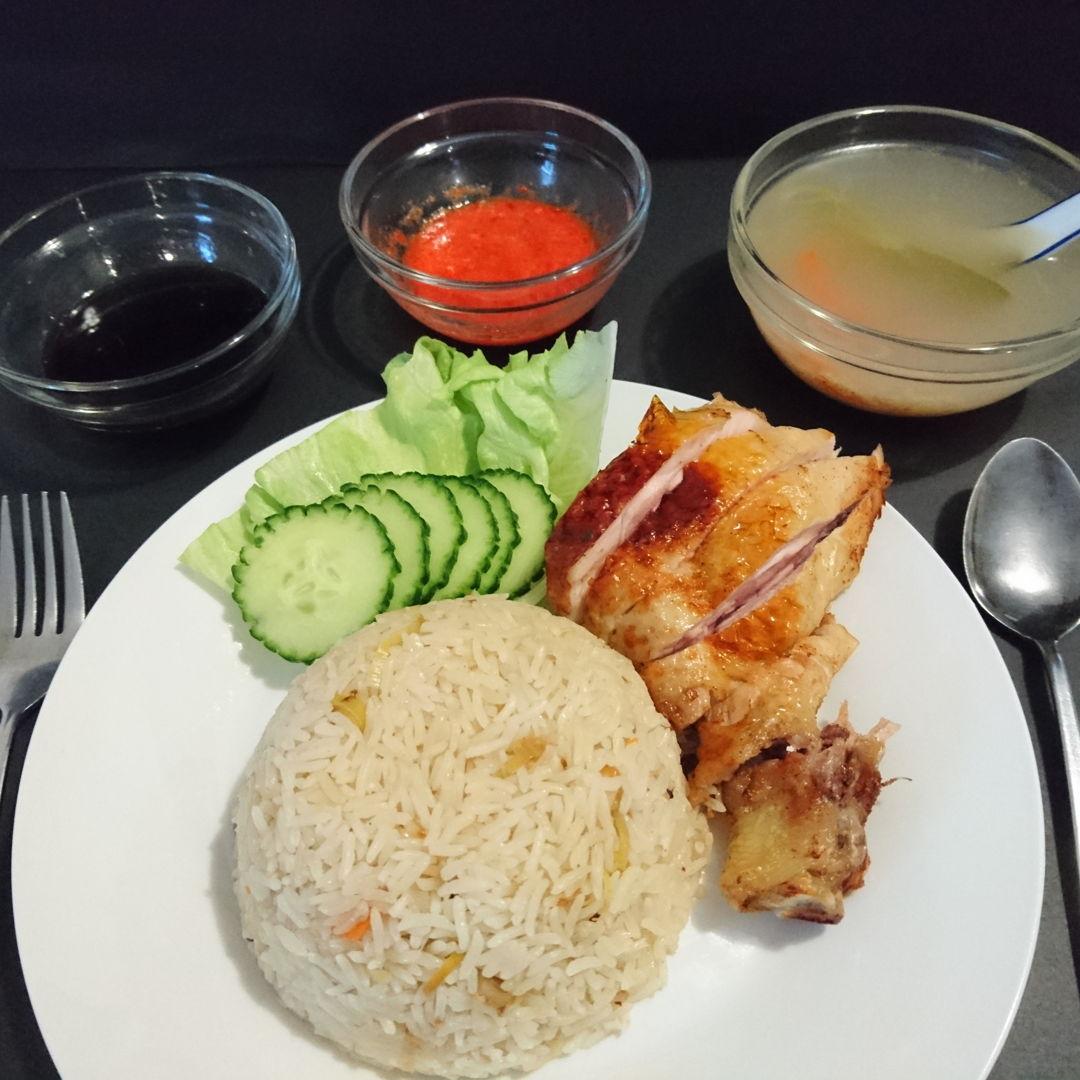 Date: 13 Nov 2019 (Wed) 35th Main: Roasted Chicken Rice (Nasi Ayam) [100] [111.5%] [Score: 8.5]