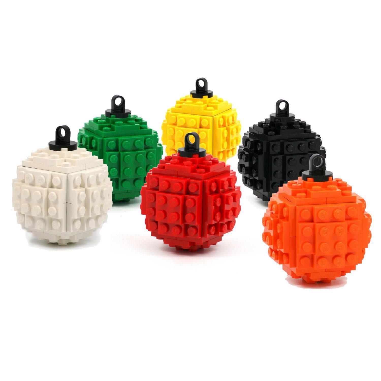LEGO Christmas Ornament Ball