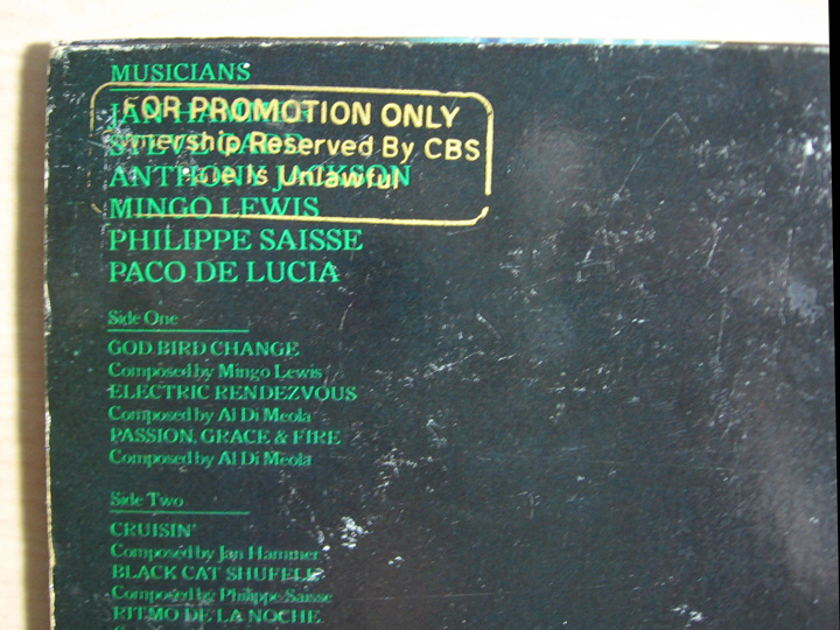 Al Di Meola - Electric Rendezvous - 1982  Columbia FC 37654