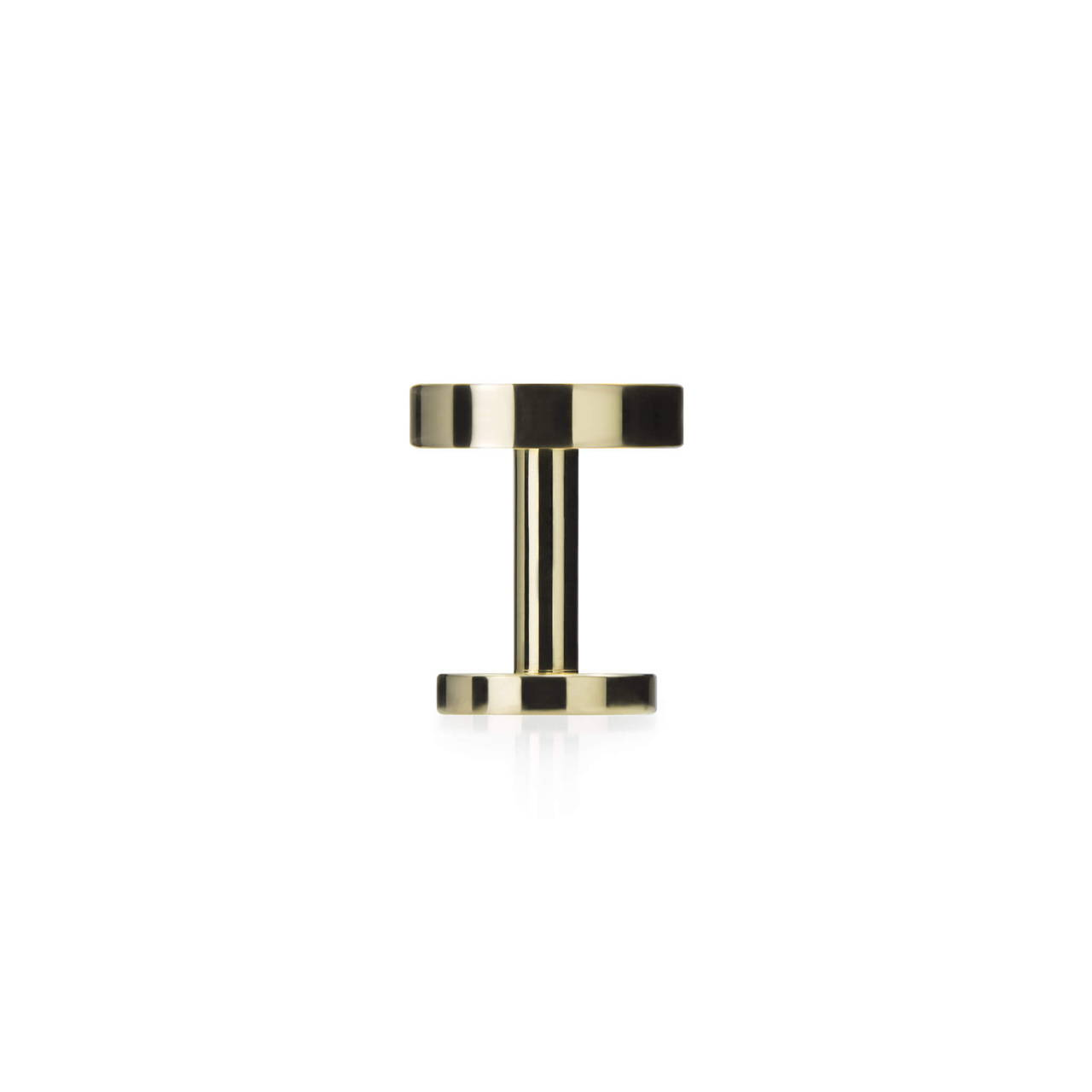 Polished Brass Cufflink