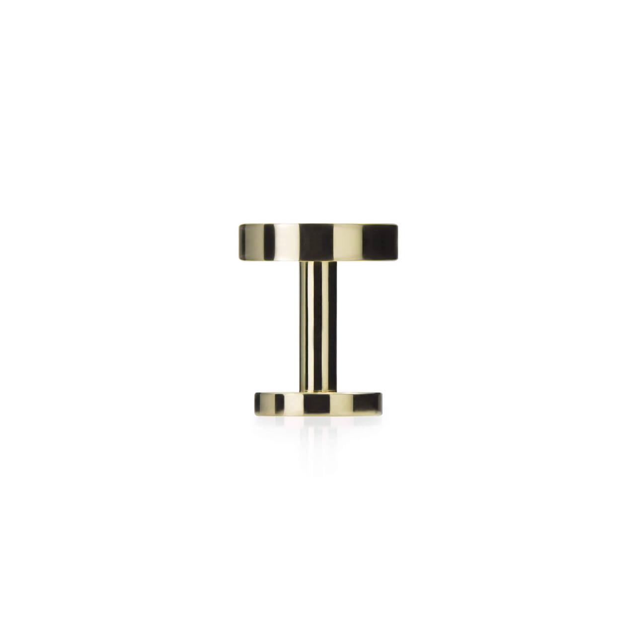 Polished Brass Cufflink