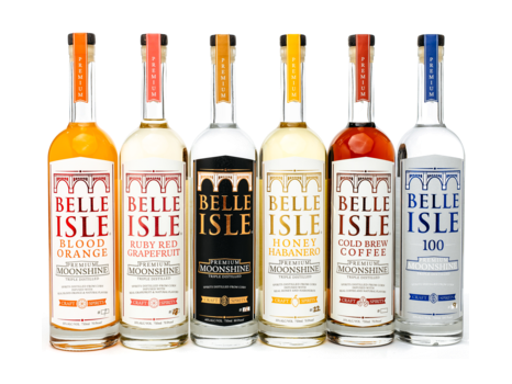 Belle Isle Moonshine Gift Basket
