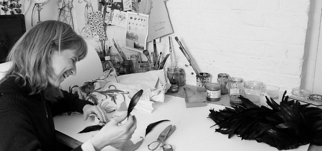 Black and white image of Aurina Lambert
