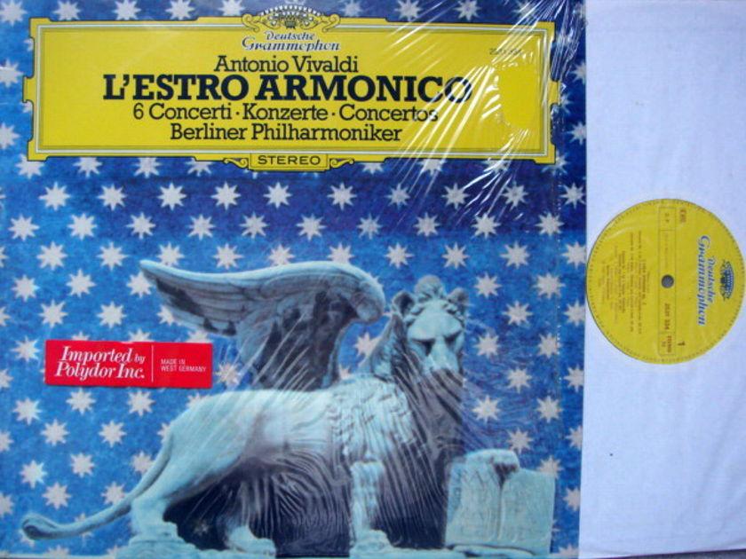 DG / Vivaldi 6 Concertos L'Estro Armonico, - BRANDIS/BPO, MINT!