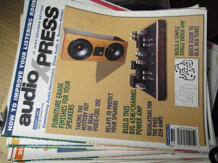 AUDIO EXPRESS - 12 ISSUE AUDIO EXPRESS 12 ISSUE OF 2002 MAGAZINES
