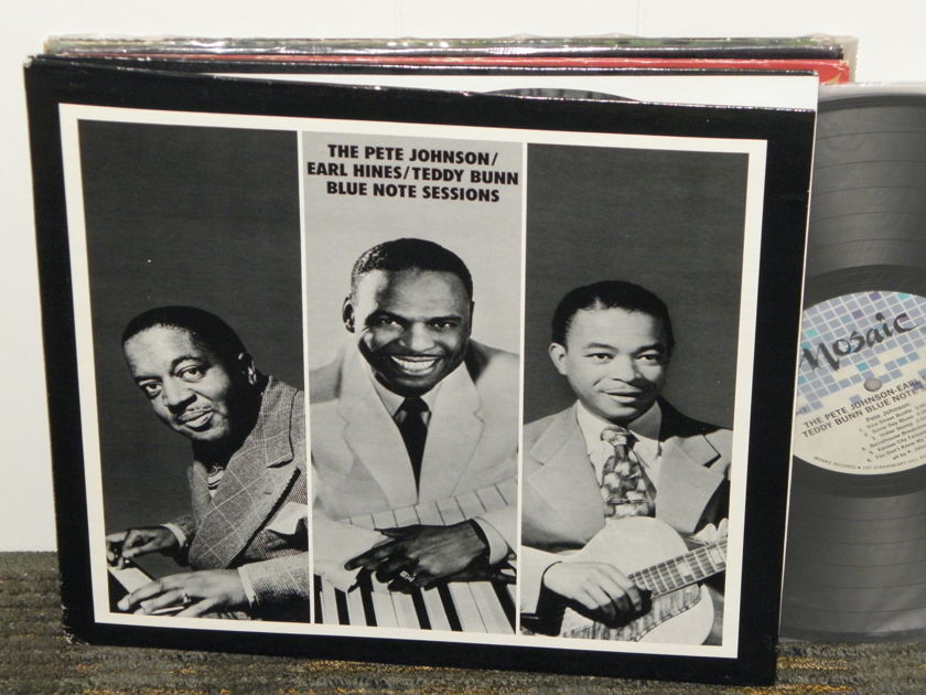 Pete Johnson/Earl Hines/Teddy Bunn - The Pete Johnson/Earl Hines/Teddy Bunn Blue Note Sessions  MOSAIC  MR1-119
