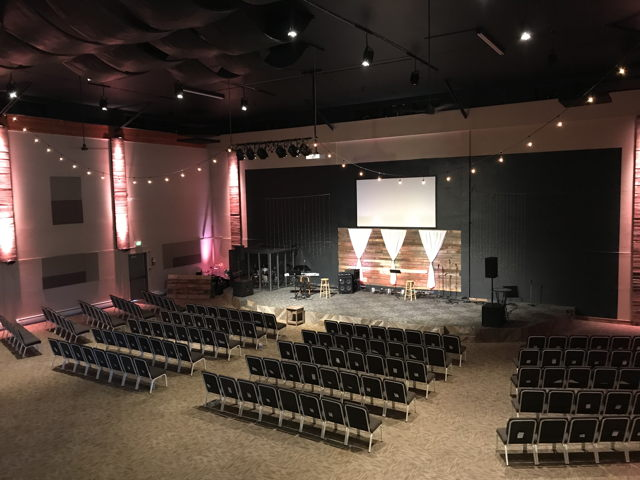 Newly Remodeled Church Space