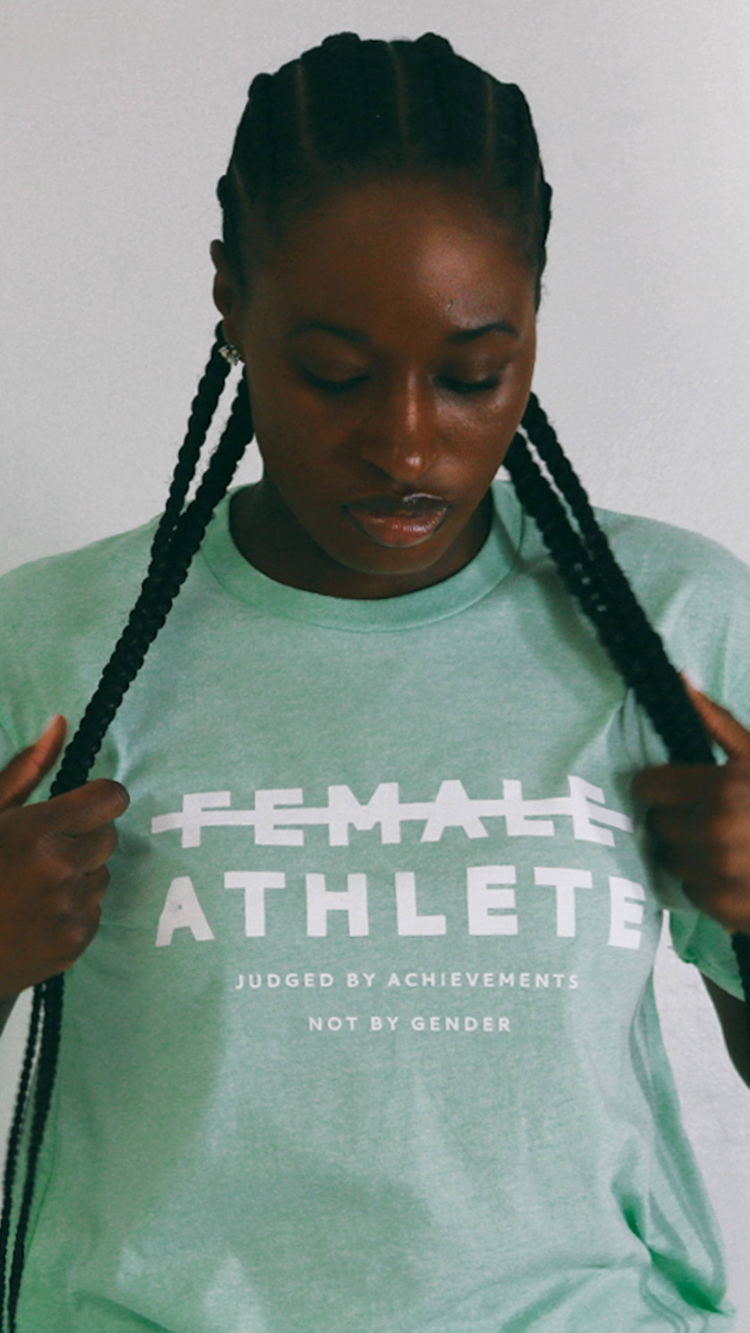 Female Athlete T-shirt