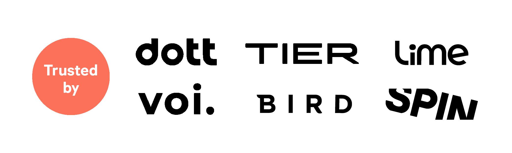 okai-trusted-by-logos-dott-tier-lime-voi-bird-spin