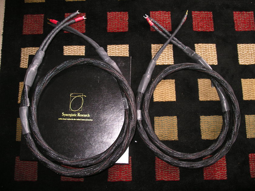 Synergistic Research Tesla Apex 8' Speaker Cable