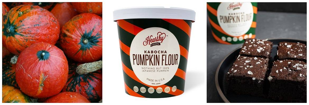 keto friendly Kabocha Pumpkin Flour